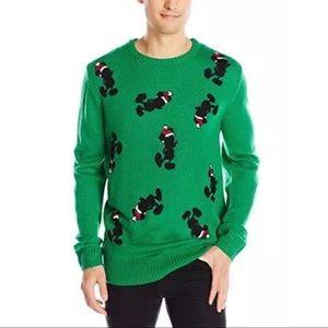 Disney Santa Mickey Mouse Christmas Sweater